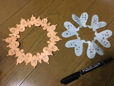 【ハロウィン】簡単かわいい切り絵で部屋を飾ったりプレゼントにも使える!