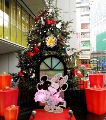 やってきました!東急クリスマススタンプラリー