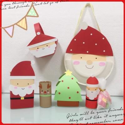 クリスマスパーティーに♪ 子供が喜ぶお菓子入れの作り方