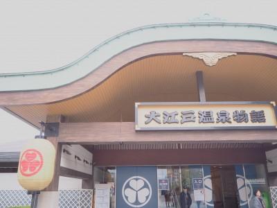 大江戸温泉物語に行ってきました!