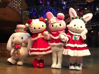 サンリオピューロランド〜「ピューロクリスマス」先行お披露目会へ☆