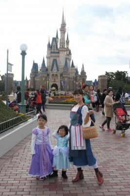 東京ディズニーランドへ行ってきました!