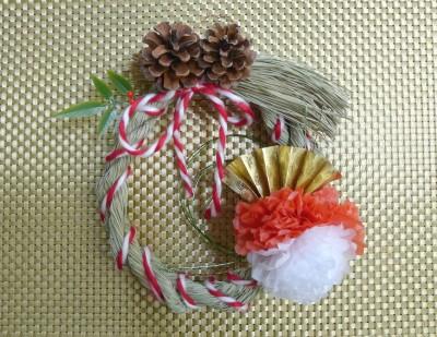 縄から手作り!お正月飾りをハンドメイド!