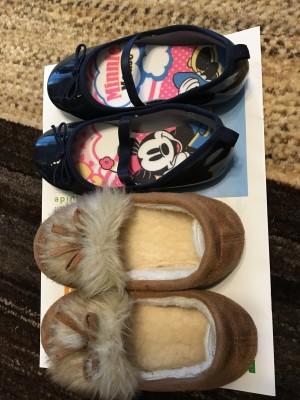 娘の靴をより可愛く暖かく!DAISOの