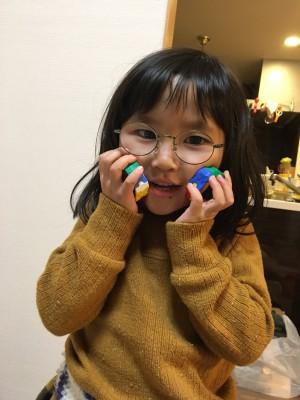 弱視遠視の精密検査結果と新しいメガネ