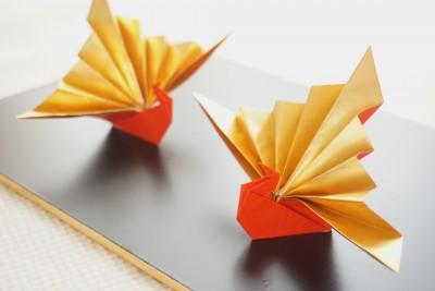 【折り紙】まだ間に合う!祝い鶴で簡単お安くお正月飾りを作ろう!