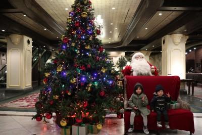 北海道旅☆「星野リゾート旭川グランドホテル」のクリスマス♪