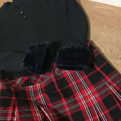 公文3ヵ月経過×冬の子供服リメイク
