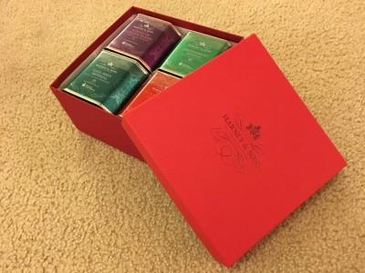 クリスマスギフトにHARNEY and SONS(ハーニー&サンズ)の紅茶♡