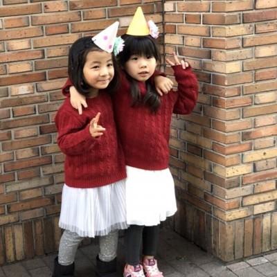 ユニクロで双子コーデ♡