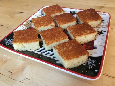 ズボラ主婦代表のパーティ料理、時短簡単アップルケーキのレシピ、手抜き万歳!