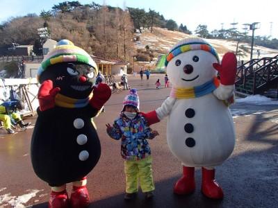 六甲山で初スキー!ファミリー向け・神戸から30分の好立地♪