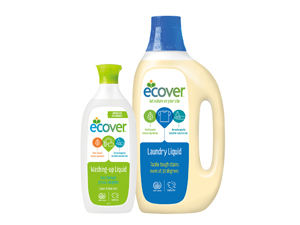 「ecover エコベール 」 食器用洗剤&洗たく用洗剤のセットを5人に!