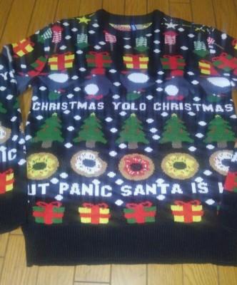 アグリーセーター(ダサセーター)でクリスマスをもっと楽しく過ごそう!!