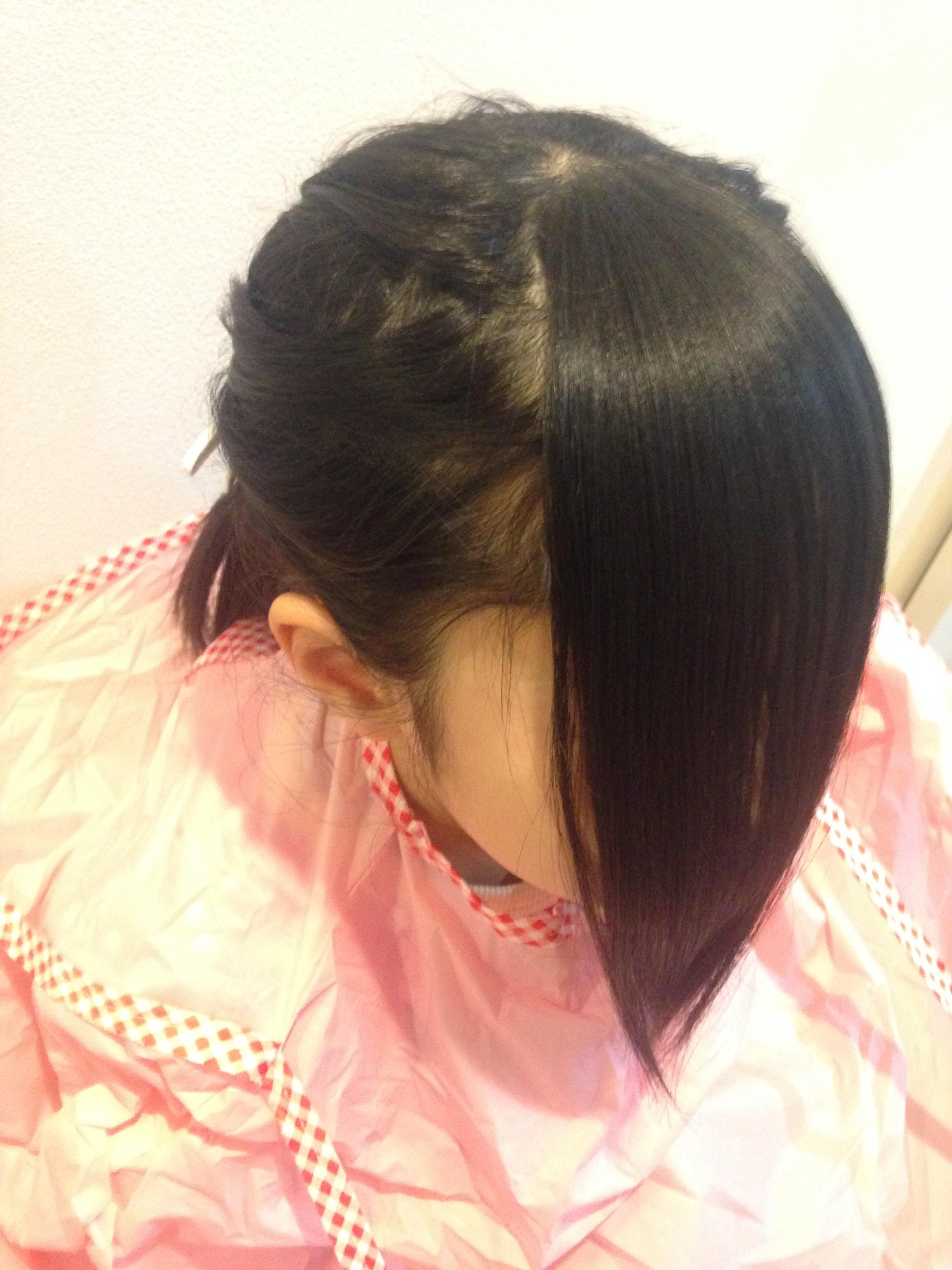 作り方 前髪