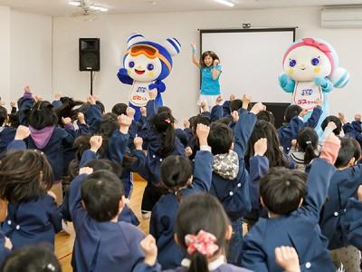 ビヒダス幼稚園キャラバン~たんぽぽ幼稚園~