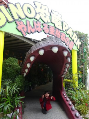 【海じゃなくてジャングル?】沖縄 恐竜パーク