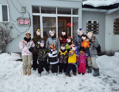 新年★子供達と初めてのスキー場( ^ω^ )!大雪・゜・。