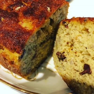 (グルテンフリー)ダイエット中のおやつに!簡単パウンドケーキ