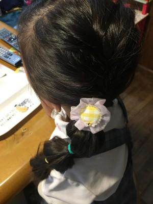 ボンボンヘアー★ 応用編