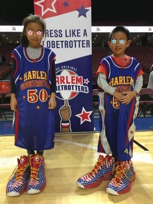 超有名バスケットボールチーム、ハーレム・グローブトロッターズ観戦で大爆笑!