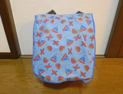 古い傘をリメイク♪ランドセルカバーを作りました!