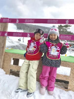 【スキーデビューにおすすめ!キッズスクール】