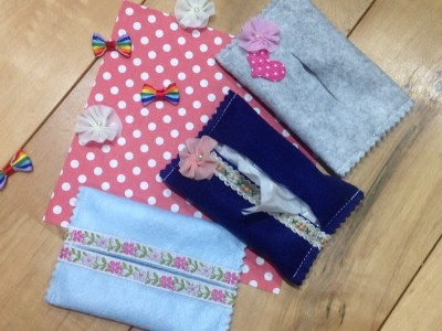 【入学準備】防災頭巾・ティッシュケース・ランドセルレインカバーなどの作り方