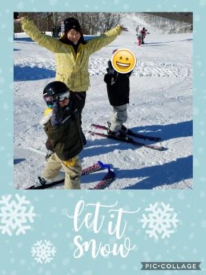 【スキー】タングラムスキーサーカスのキッズパーク♪