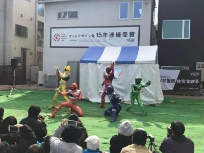 【無料イベント】住宅展示場でキューレンジャーショーを見てきました♪