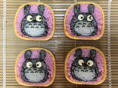 飾り巻き寿司 ひな祭り バラ トトロ 保育園最後の遠足弁当は豪華に!