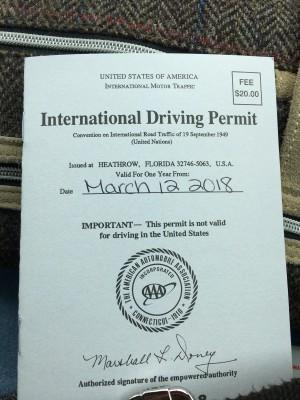 【駐在員妻の本帰国準備02】日本の免許失効→AAAでアメリカの国際免許証を取得!