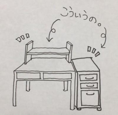 【学習机】ああ買っておけばよかった!収納力のある学習机!