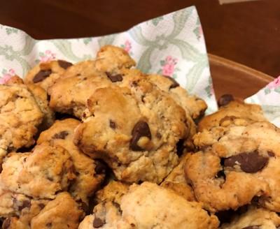 【簡単】材料4つ!たった1時間!チョコチップクッキーを子どもと手作り♪