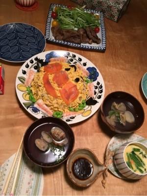 ひな祭りはアンパンマンちらし寿司