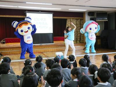ビヒダスキャラバン幼稚園キャラバン~星条幼稚園(愛知県名古屋市)~