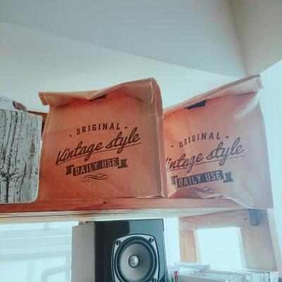100均で見つけたオシャレシリーズ☆紙袋が使える