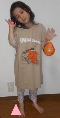 【ヤ ヤムチャさーーーん】ユニクロ・ジャンプ50周年コラボT身長別着画
