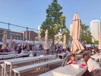 ラーメン女子博2018 in 中野四季の森公園♪