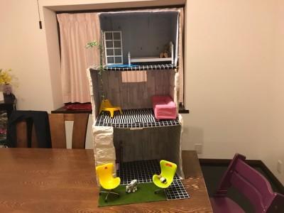 【リカちゃんハウス4】完成??IKEAの家具でそれっぽくオシャレに