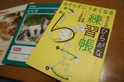 入学前から字を書くことを慣らしておきたい!子どものひらがな練習帳!