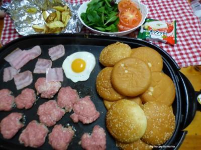 """【レシピあり】""""うちのバーガー世界一""""ハンバーガーパーティ!"""