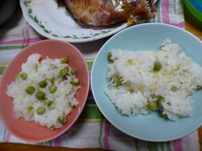 【春ごはん】豆ごはんに筍ご飯に鯛旬のものは美味しい!!