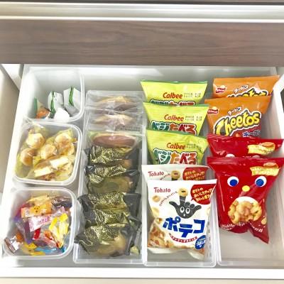 【収納】子どものお菓子の収納場所
