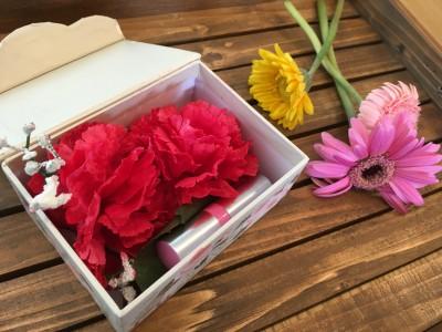 母の日に✨ ~手作り花チーク~