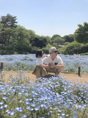 【お出かけ】東京でもネモフィラが見れる!国営昭和記念公園へ
