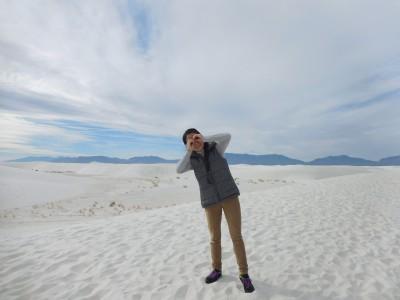 ホワイトサンズ国定公園、子連れニューメキシコ旅行 in アメリカ【我が家流英検対策】