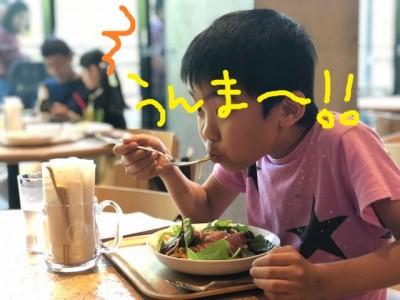 【お台場子連れランチ】穴場!?美味し♪おしゃれ♪LOHAS CAFE☆