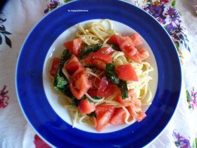 【簡単レシピ】これ絶品!トマトと大葉の冷製パスタ!!