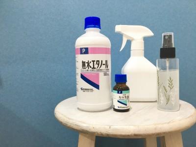 【虫対策】ハッカ油と無水エタノールで虫よけスプレーを簡単に手作り♬